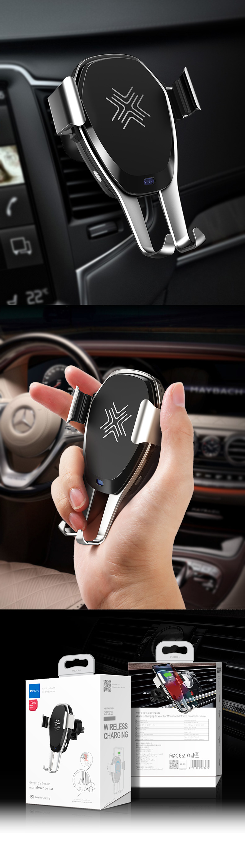 차량용 AI 오토센서 고속 무선 충전기 거치대 - 라이프 트렌드, 39,800원, 자동차용품, 기타용품