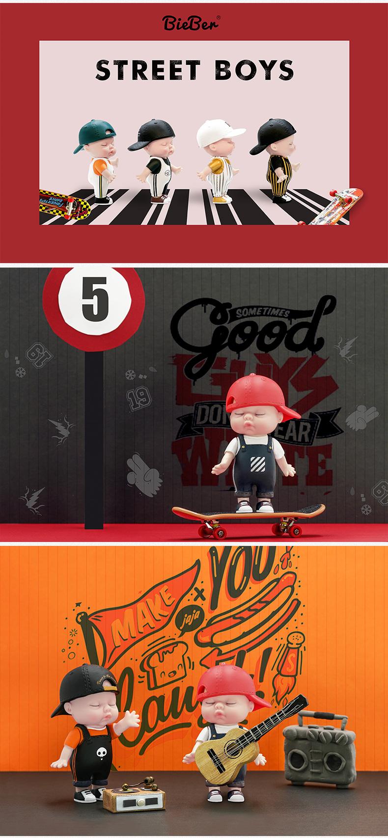 비버 베이비돌 블라인드 피규어 랜덤 박스-스트릿보이즈 - 비버, 13,800원, 캐릭터 피규어, 기타 캐릭터피규어